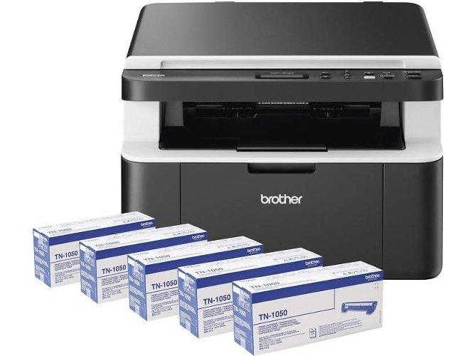 5 Tóner 1000pag + impresora láser multifunción