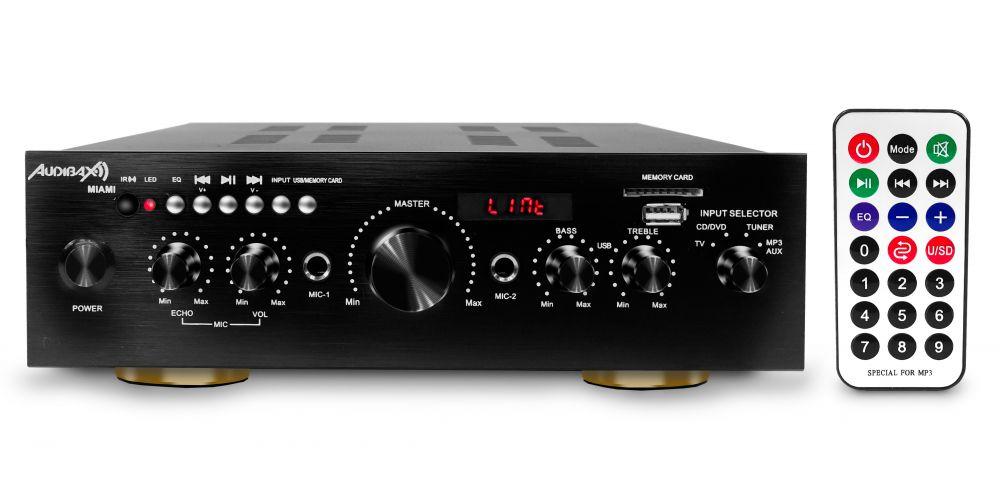 Amplificador Karaoke Bluetooth Audibax Miami