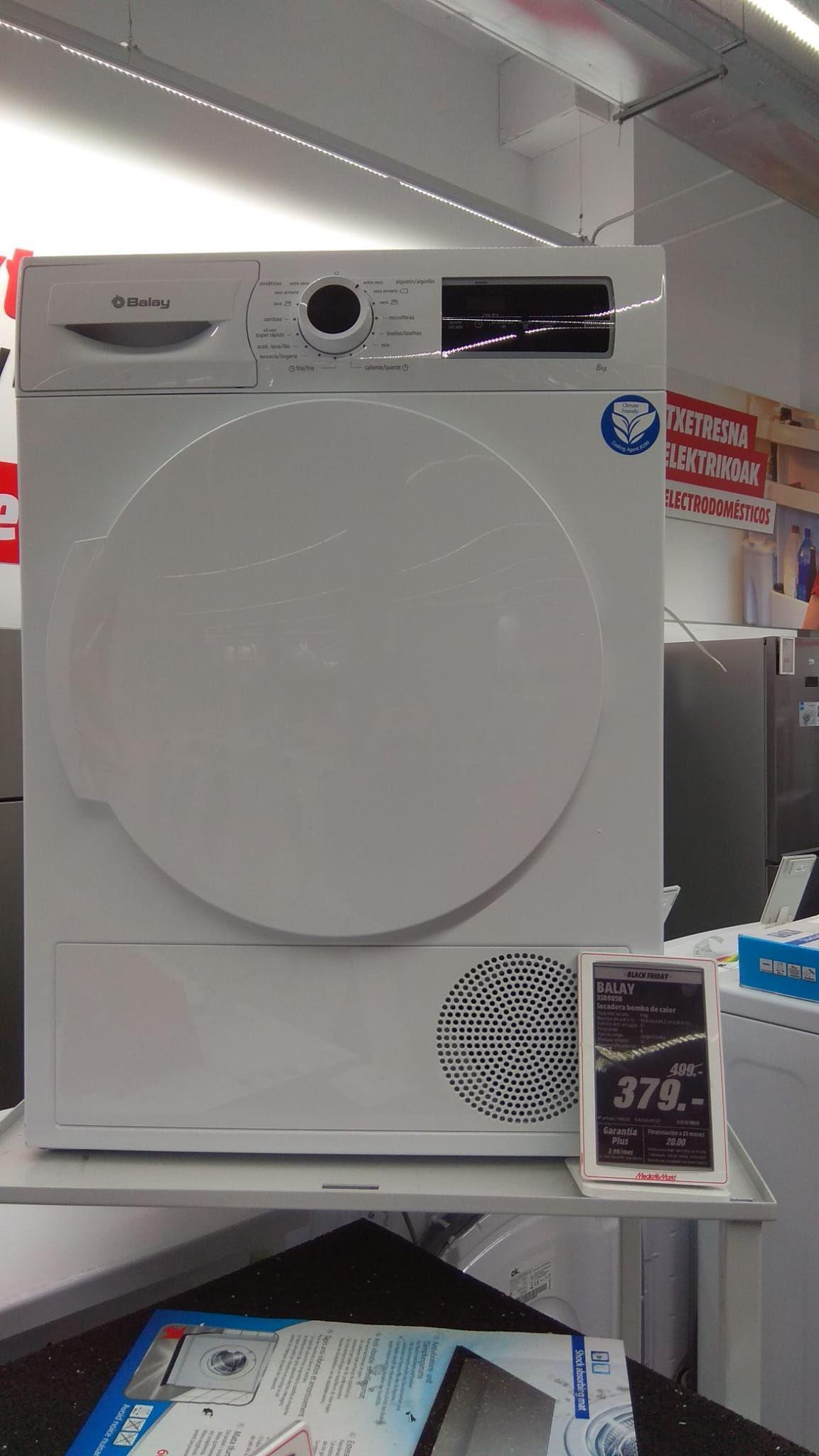 Secadora - Balay 3SB985B, 8 Kg