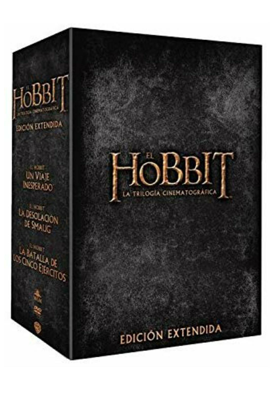 Trilogía Hobbit - Edición Extendida DVD