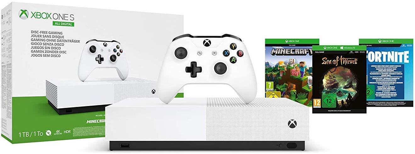 Xbox One S 1TB All Digital [Desde Amazon]