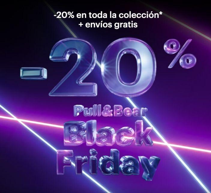 TODO AL 20% P&B Black Friday ¡Envio Gratis!