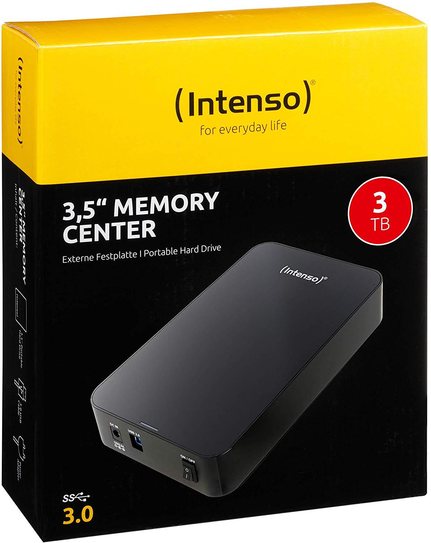 "Intenso Disco duro externo 3TB 3.5"" USB 3.0 Reaco ""como nuevo"" Amazon"
