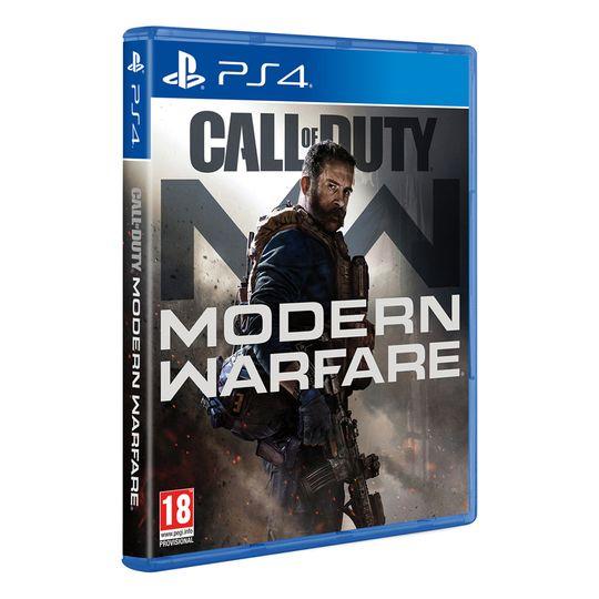 Call of Duty Modern Warfare FÍSICO PS4 pagando con PayPal