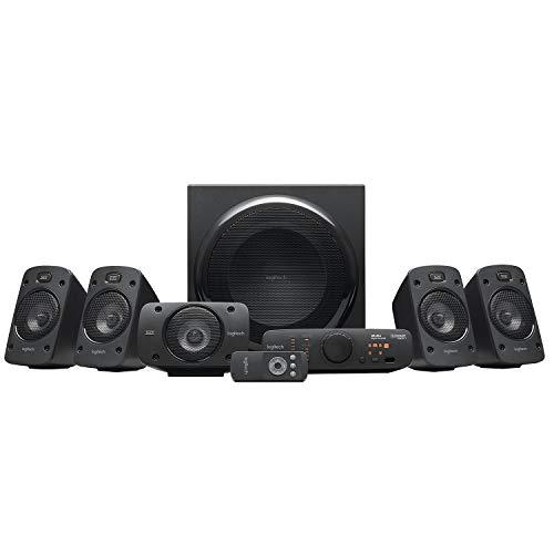 Logitech Z906 5.1 Sistema de Altavoces Sonido Envolvente THX, Certificado Dolby&DTS, 1000 W