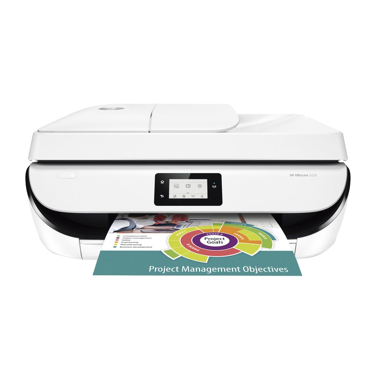 Multifunción HP OfficeJet 5232 Wi-Fi 59€