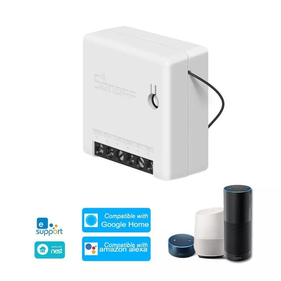 10 Interruptores WiFi Sonoff Mini (desde España)