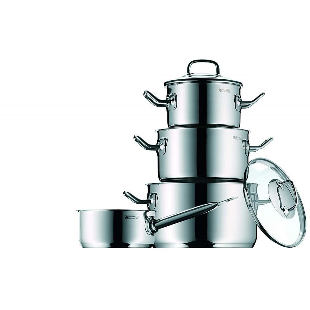 WMF Batería de cocina Profi Plus 4 piezas Acero Inox Embalaje Deteriorado