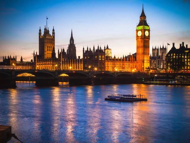 Vuelos a Londres en enero/febrero a partir de 5,00€ desde la Península