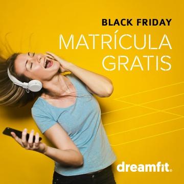 Matrícula gratis en DreamFit