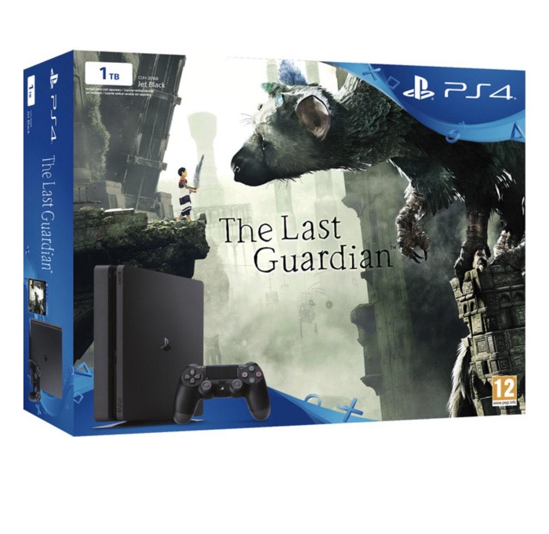 Consola PS4 Slim (Chasis D) de 1TB + The Last Guardian