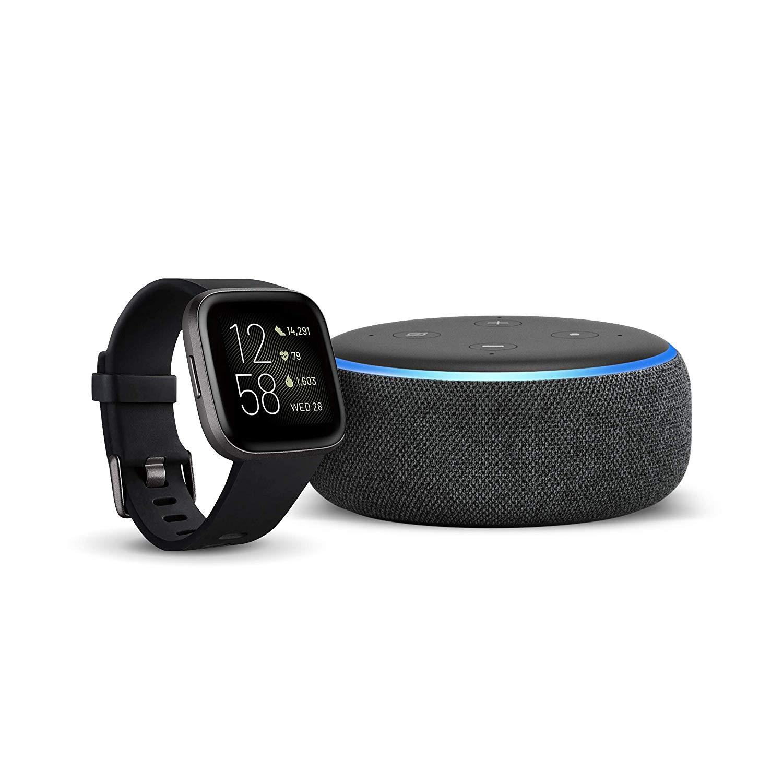 Fitbit versa 2 + echo dot