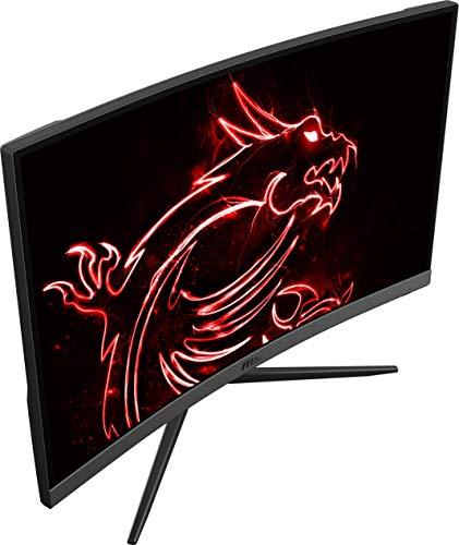 """Monitor Curvo Gaming de 27"""" LED FullHD 165Hz MSI Optix G27C4"""