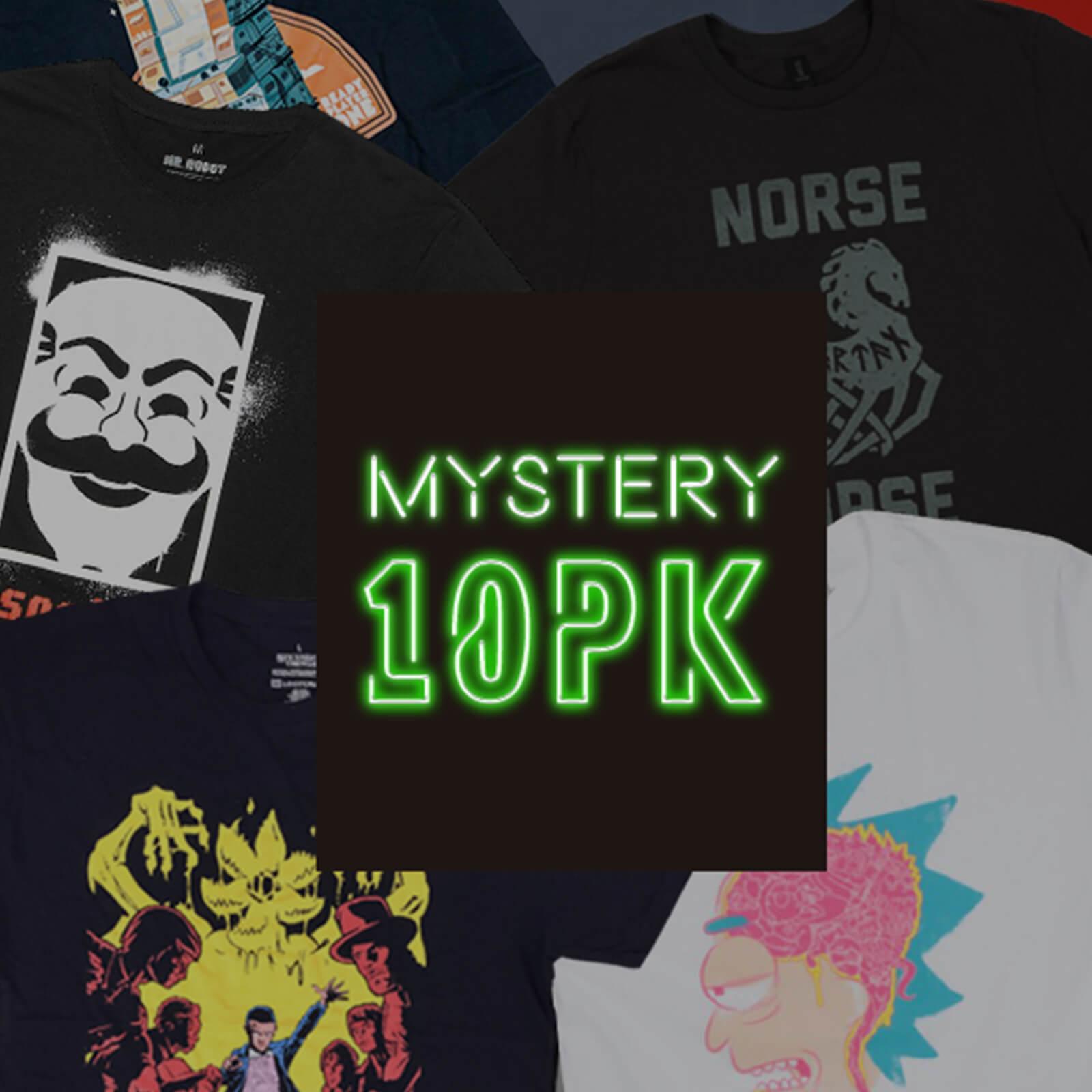 10 camisetas random frikis por solo 35€