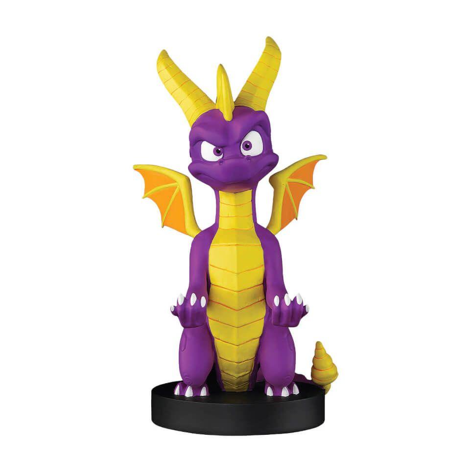 Cable Guy Spyro el dragón (20 cm) - Soporte Mando de consola o Smartphone
