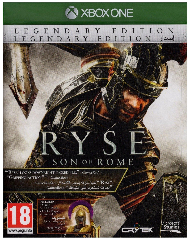 XBOX ONE: Ryse Son of Rome (Legendary Edition) - juego físico
