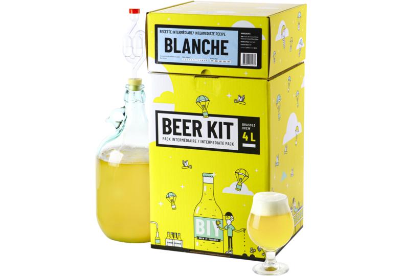 Kit de elaboración casera de cerveza