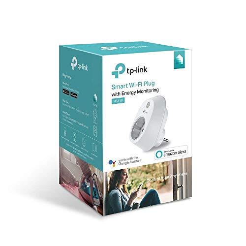 TP-Link HS110 - Enchufe inteligente inalámbrico con monitorización de energía
