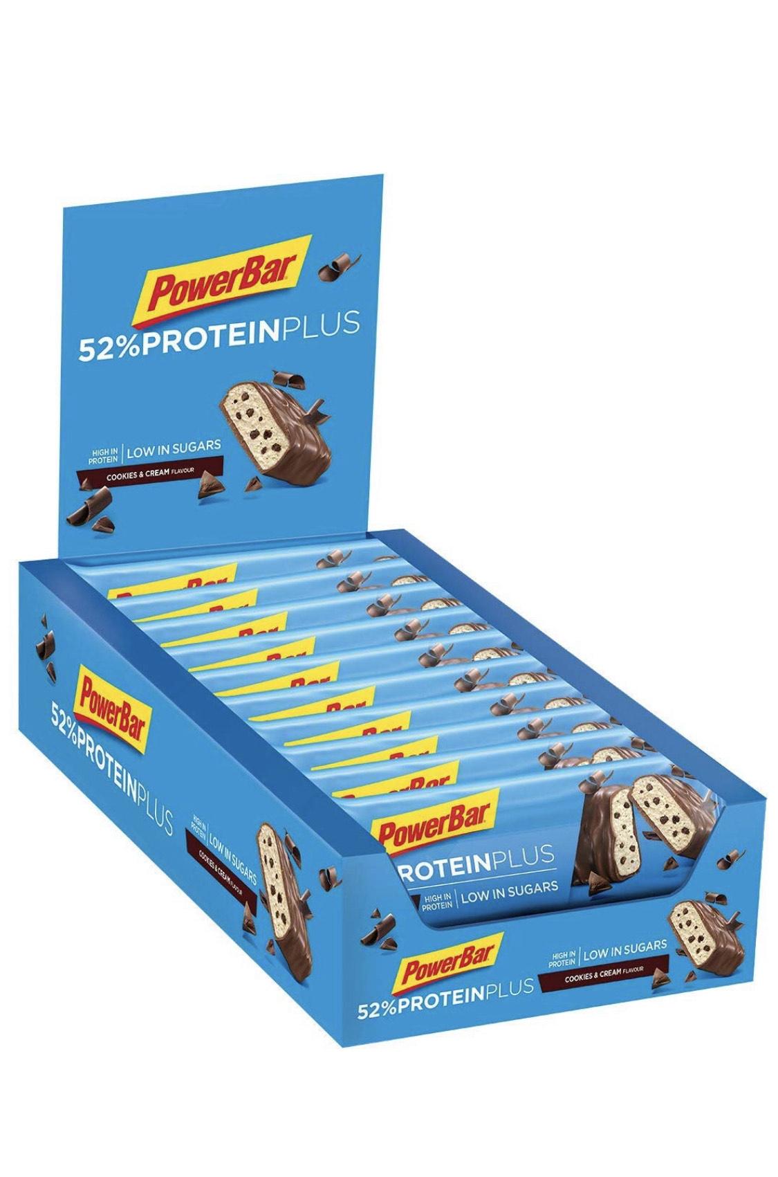 Powerbar Protein Plus 52 | x20 Barritas