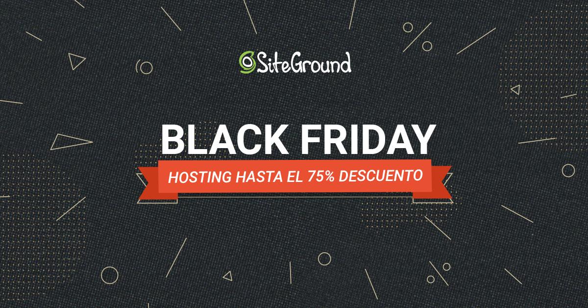 75% de descuento en hosting en Siteground