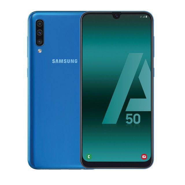 Samsung Galaxy A50 4GB+128GB con casi el 40% de descuento.