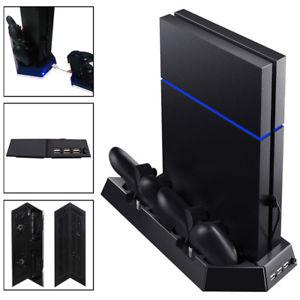 Ventilador de refrigeración y soporte para ps4