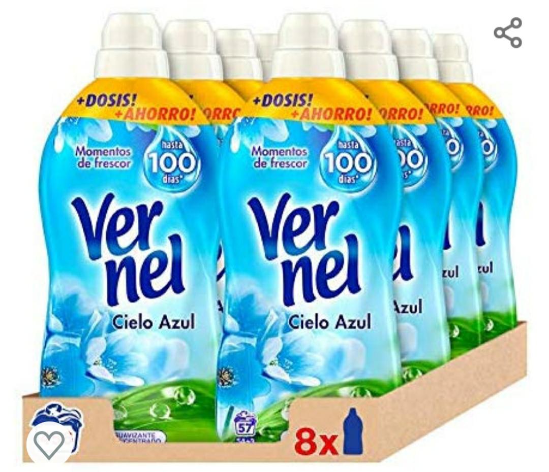 Suavizante Vernel Pack de 8