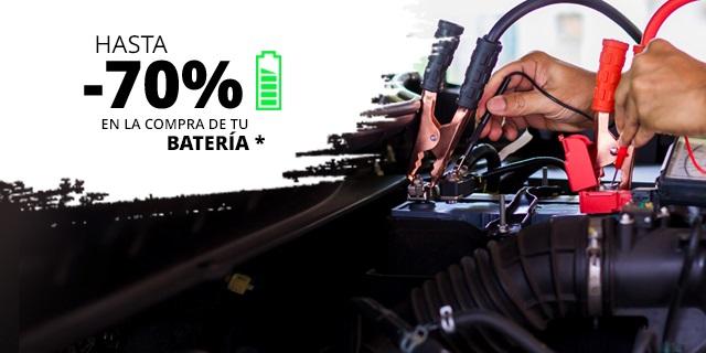 Envío gratis sin mínimo y hasta 70% de descuento en baterías