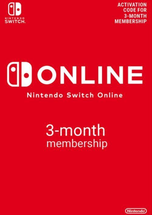 3 meses de Switch online por 3,49€