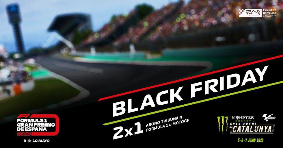 2x1 Circuito de Barcelona Moto GP y F1