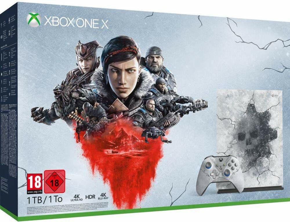 Xbox one X edición limitada Gears of war.