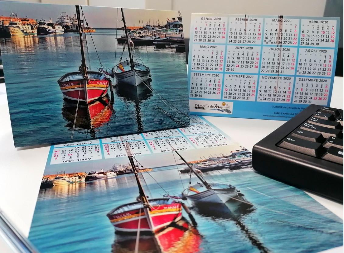 Calendario de mesa 2020 de L`Ametlla de Mar (GRATIS)