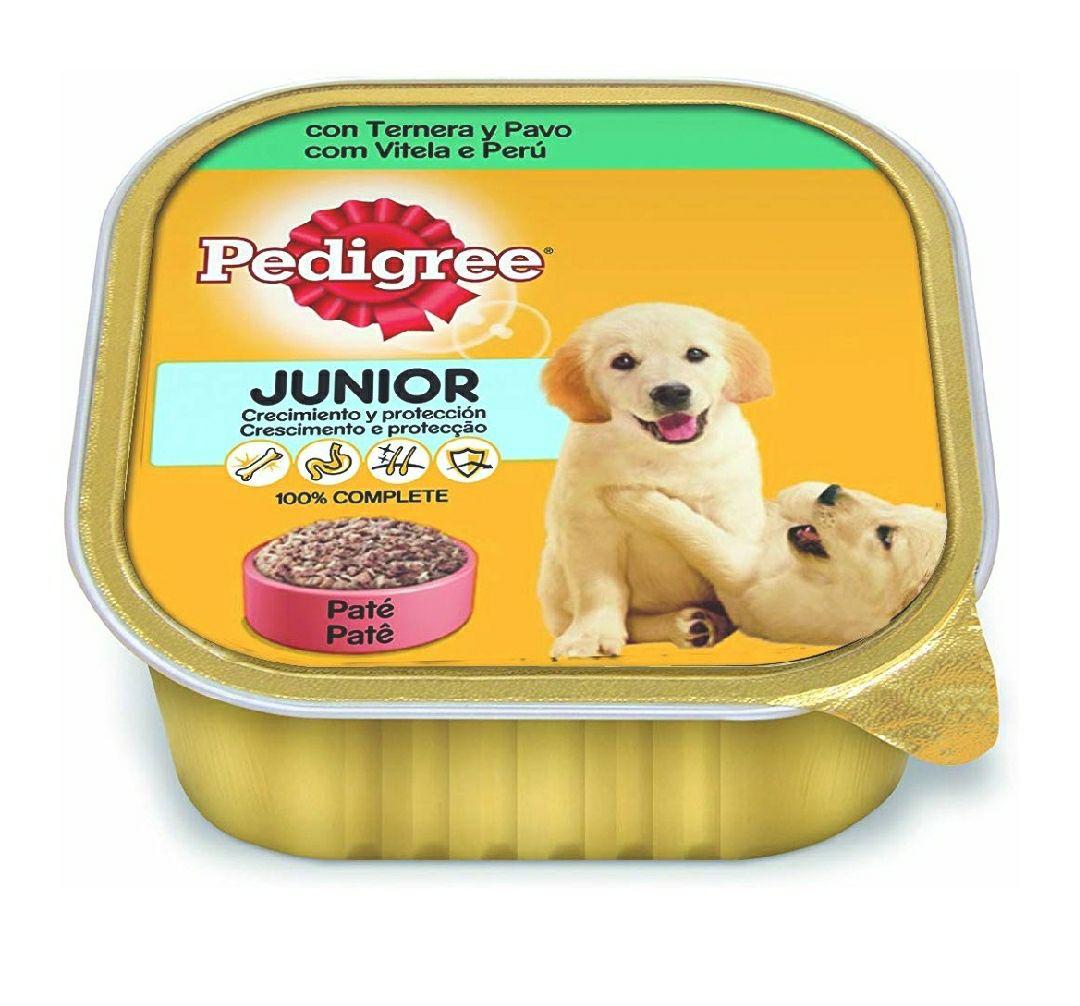 [Pack de 20] Paté Perros Pedigree Junior Ternera y Pavo 300g