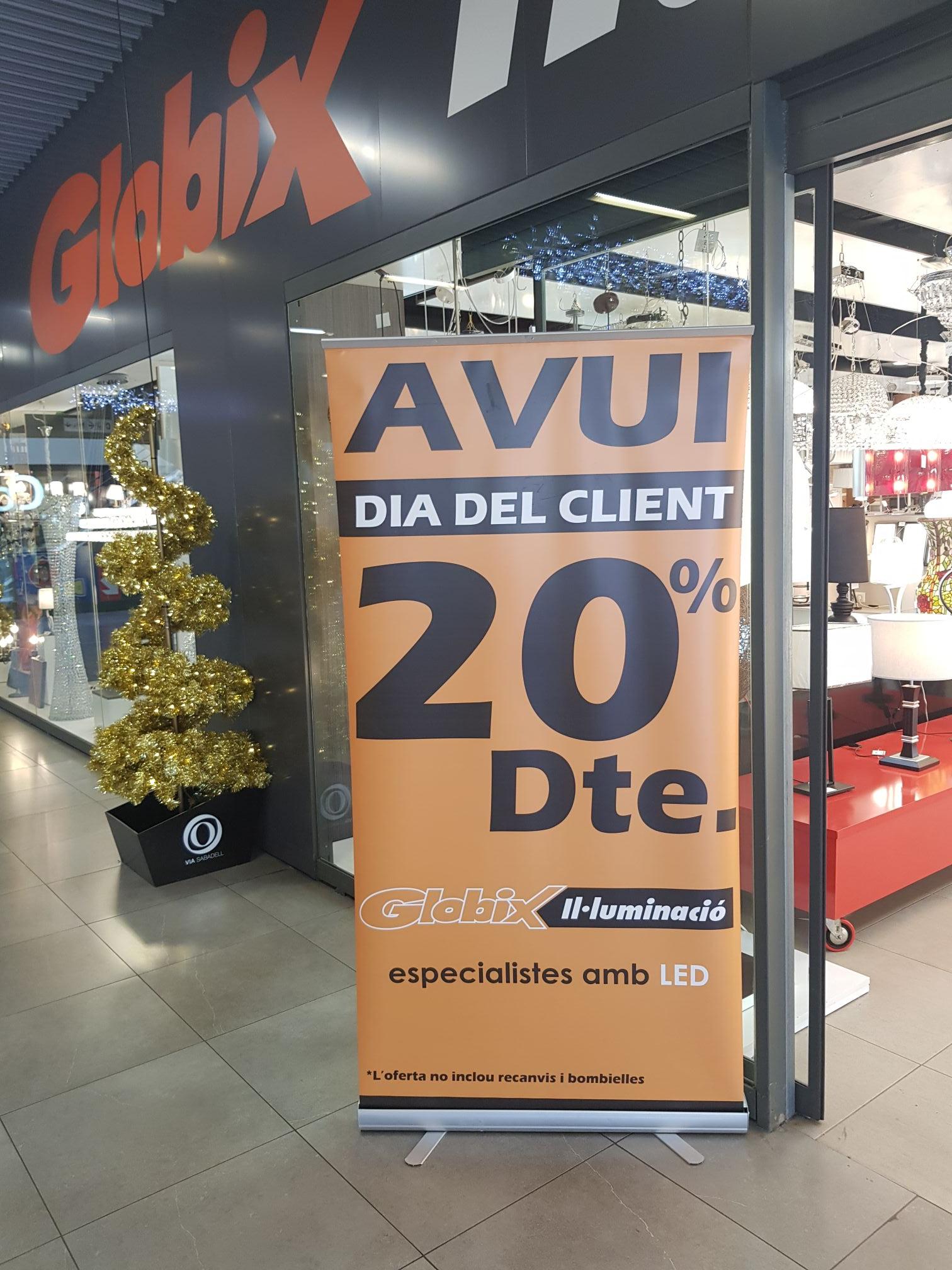 Black Friday 20% en Globix (Sabadell)