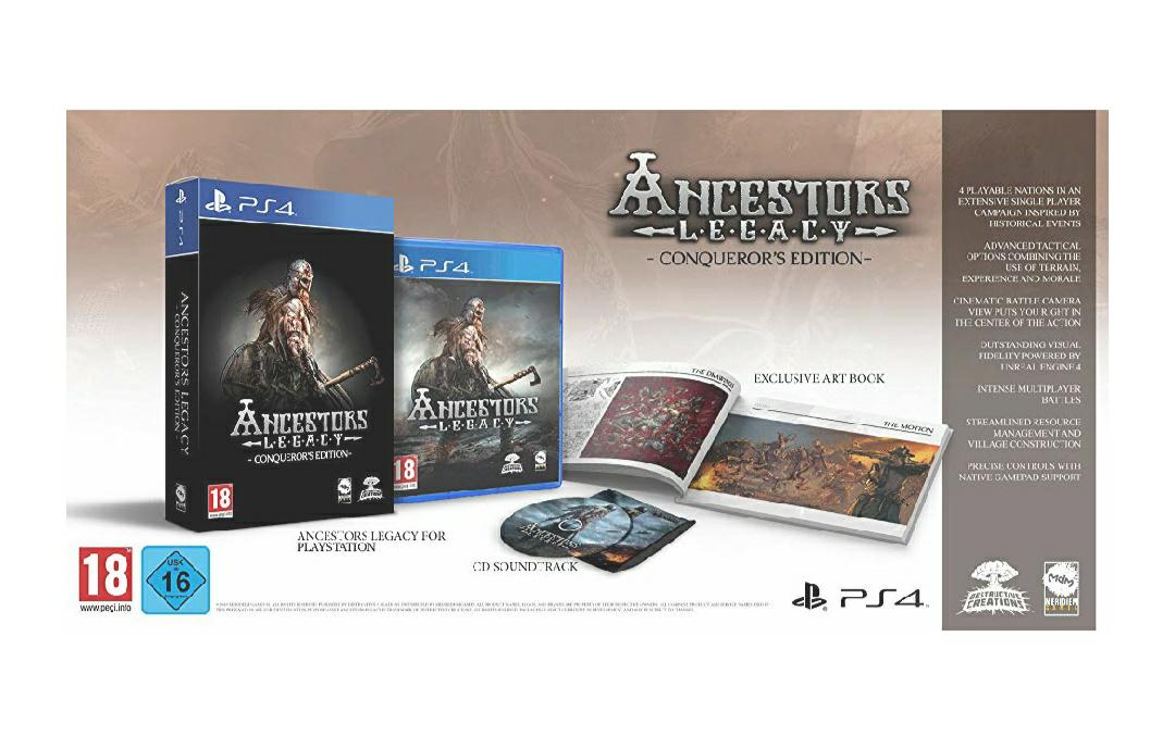 Ancestors Legacy - Conqueror's Edition (PS4, físico)