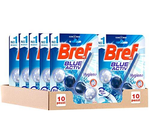 Bref Blue Activ Cesta WC - Pack de 10