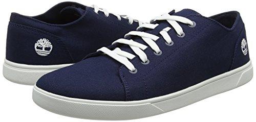 TALLA 45.5 - Timberland Bayham Canvas Oxford, Zapatos de Cordones Oxford Hombre