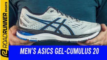 (NEGRO Y AZUL) - (POCAS TALLAS) - Asics Gel-Cumulus 20, Zapatillas para Hombre