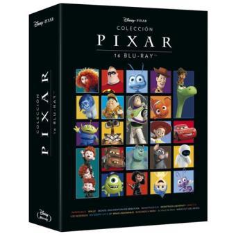 Pack Colección Pixar - Blu-Ray (16 películas)