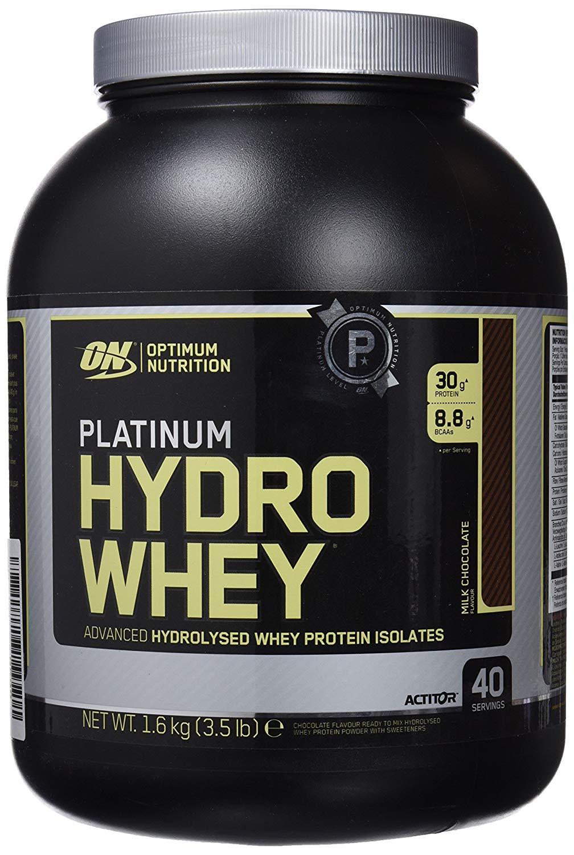 "Optimum Nutrition Suplemento Dietético en Polvo ""Platinum HydroWhey Proteína"""