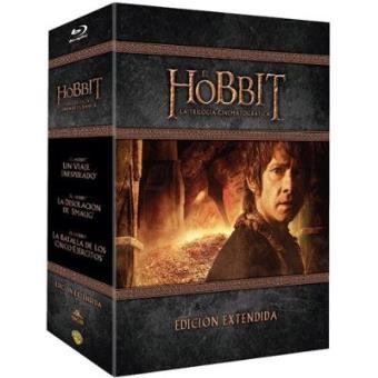 Pack Trilogía El Hobbit (Ed. extendida) - Blu-Ray