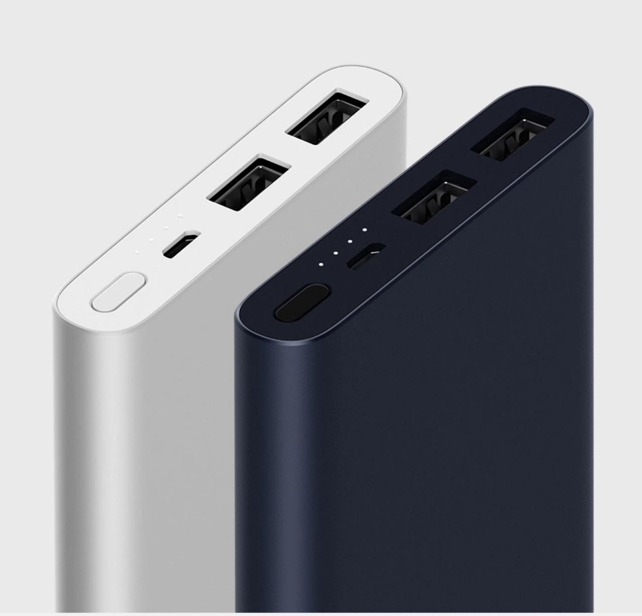 Mi powerbank 2s de Xiaomi a 9,99€ tienda xiaomi oficial