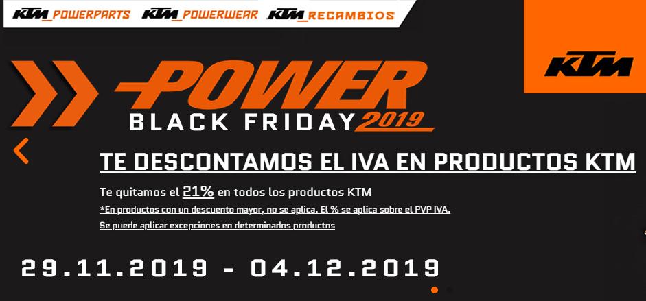 TODO KTM con un 21% (Ropa, Equipación, Kits, Accesorios y Recambio)