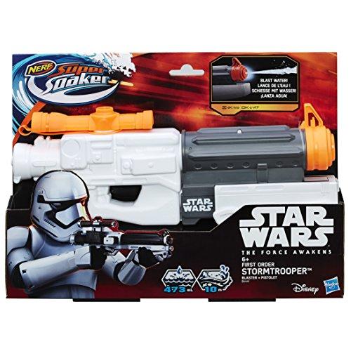 Pistola de agua Nerf Super Soaker Star Wars de Soldado de Asalto de La Primera Orden