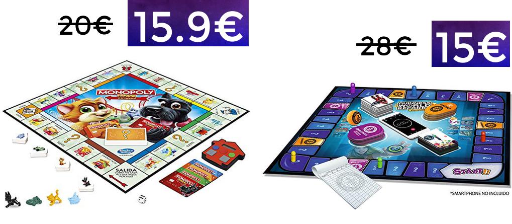 Monopoly varias ediciones y Guinness desde 11.9€