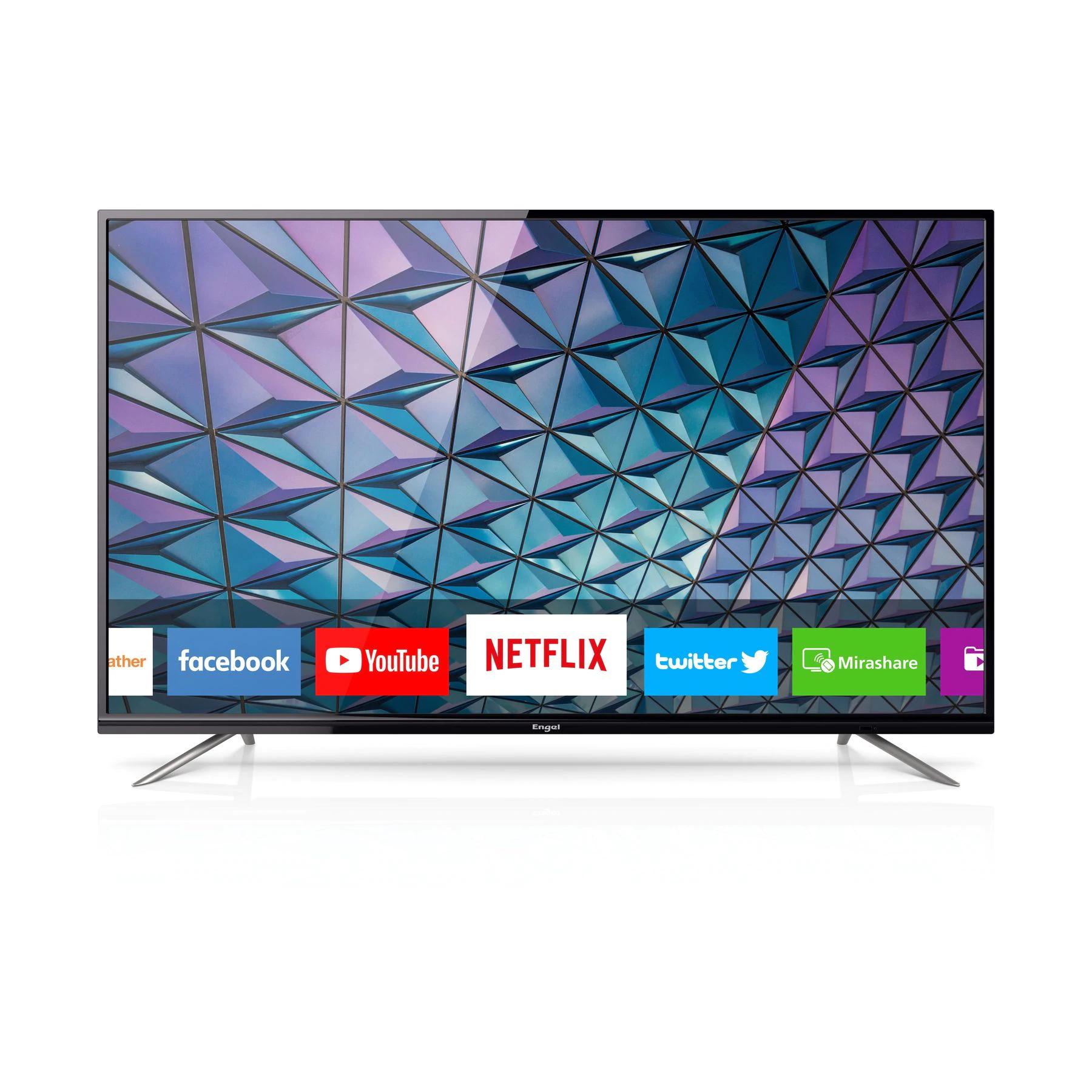 TV Engel LE5580SM LED de 55 Pulgadas Netflix 4K UHD