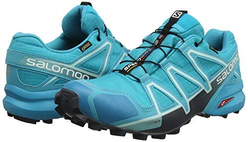 TALLA 40 - Salomon Speedcross 4 Gore-Tex, Zapatillas de Trail Running para Mujer