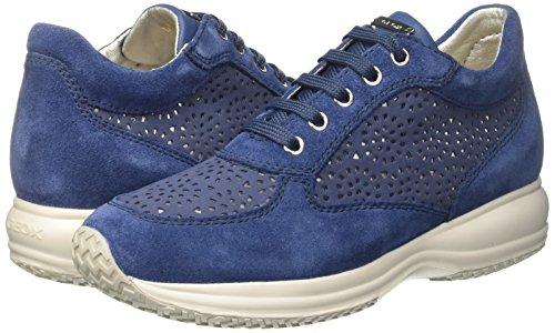 (VARIAS TALLAS) - Geox D Happy A, Zapatillas para Mujer