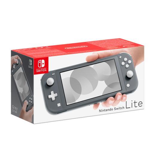 Nintendo Switch Lite Gris + 2 cupones de 55€** LEED DESCRIPCIÓN