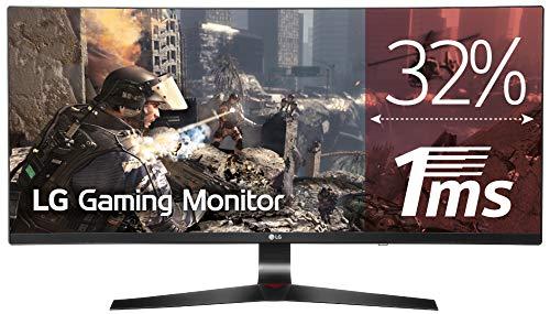 "Monitor Gaming LG UltraWide FHD de 34"" con panel IPS"